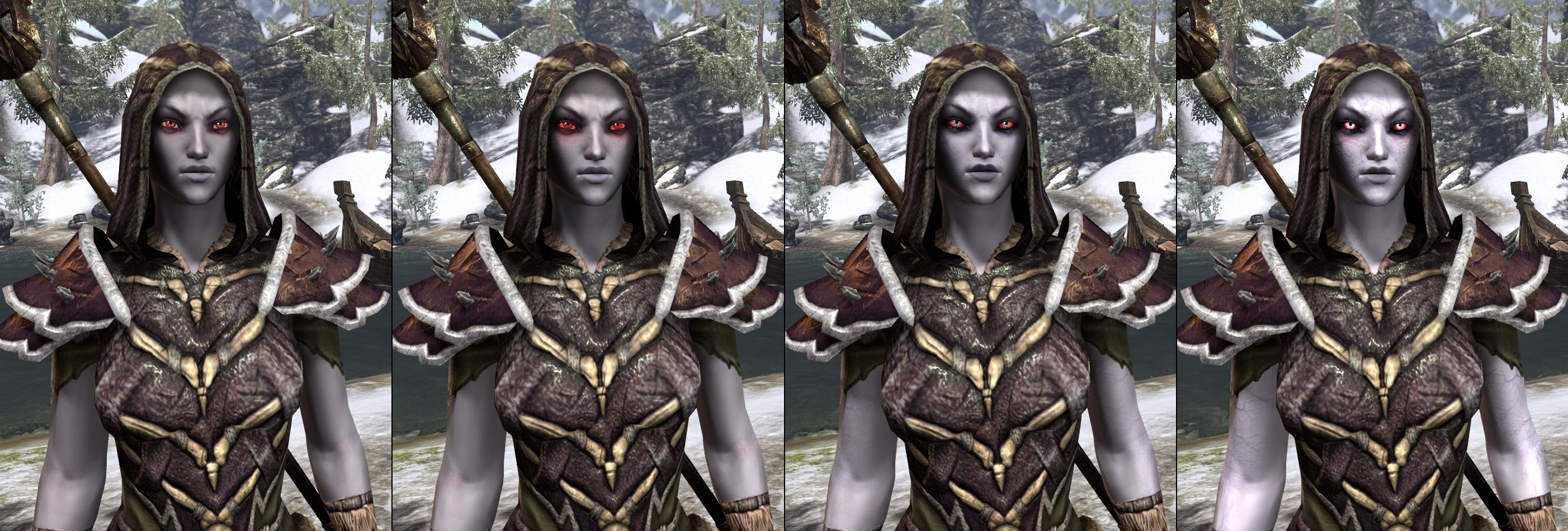 How does each race look as a vampire? : elderscrollsonline