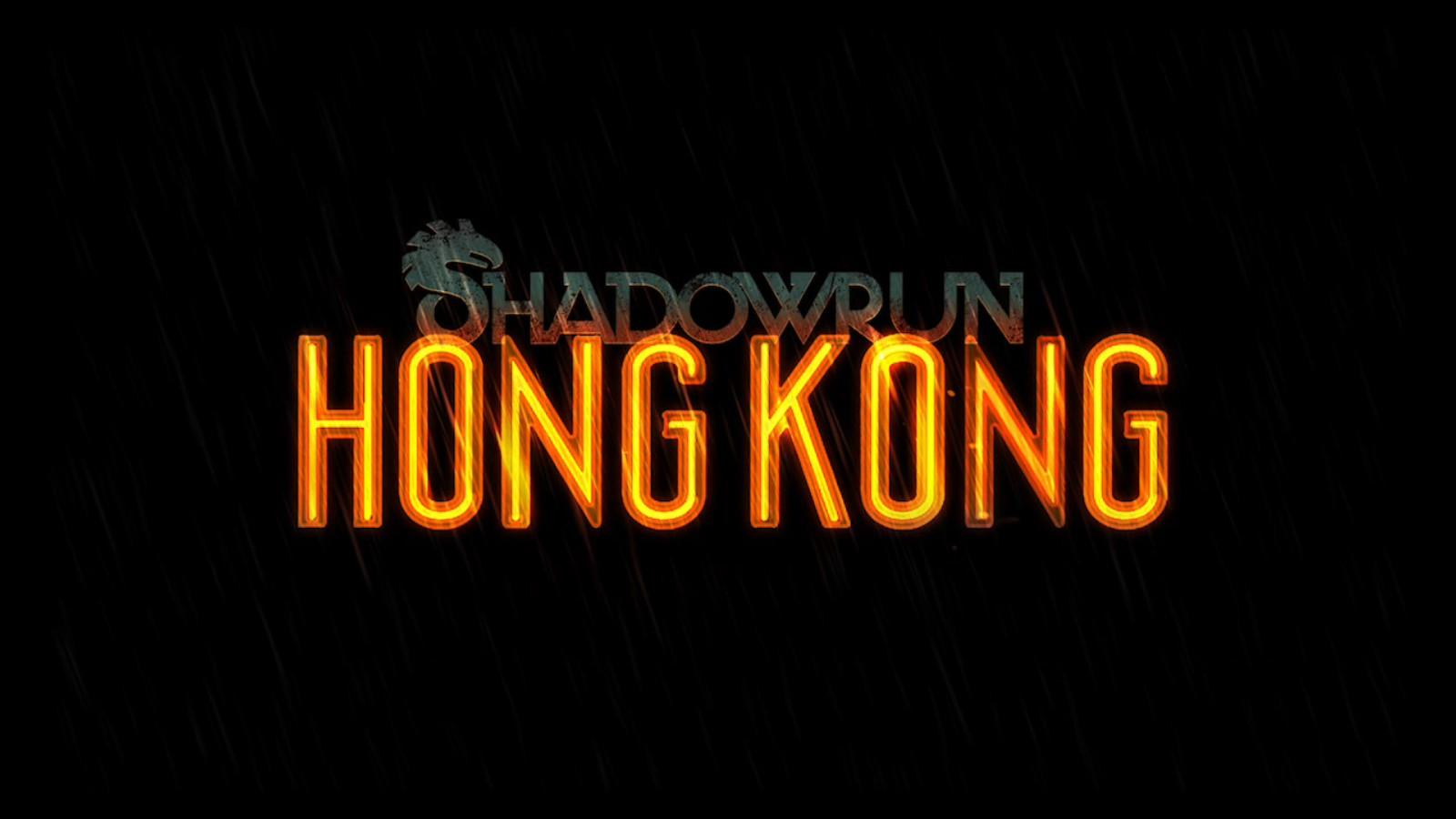 Shadwrun: Hong Kong